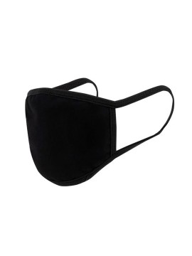 Black adult barrier mask - Washable and reusable 30 washes