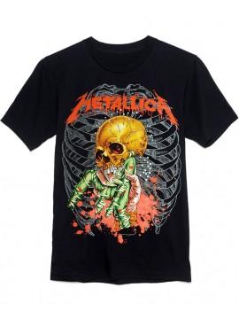 Metallica Fixxxer Vintage Tee Black