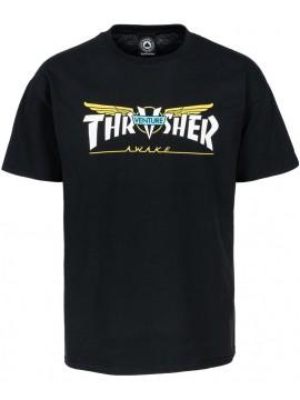 Thrasher T-Shirt Venture Collab Black