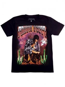 T-Shirt Travis Scott Birds Eyes View Noir