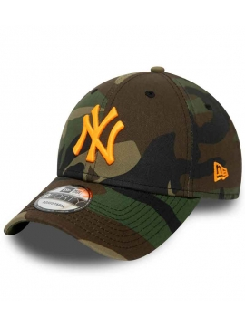 Casquette NY New Era 9Forty New York Neon Logo Camouflage
