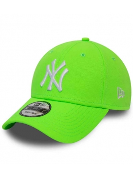 New Era 9Forty League Essential 940 New York Yankees Neon Green