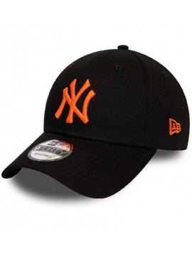 New Era 9Forty New York Yankees League Essential 940 Orange Logo