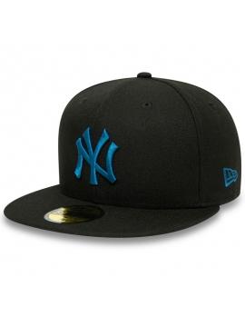 New Era 59Fifty New York Yankees League Essential Black
