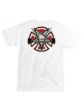 Thrasher X Independent Pentagram Cross Tee White
