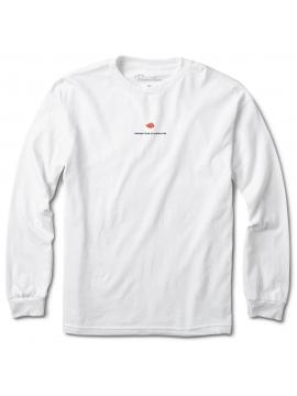 Primitive x Naruto T-Shirt Manches Longues Akatsuki Clan Blanc