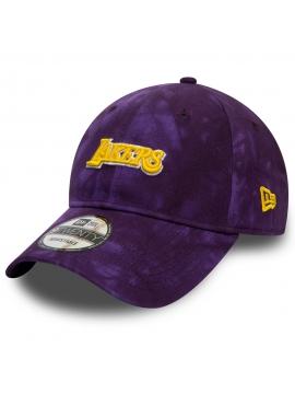 New Era Los Angeles Lakers Team Tie Dye Purple 9Twenty Cap