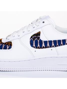 Remix Line Custom X Nike Air Force 1 Wax Custom Black
