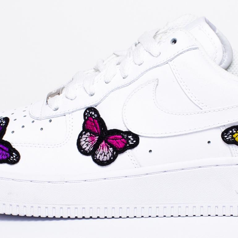 Remix Line Custom - Nike Air Force 1 Butterfly Custom