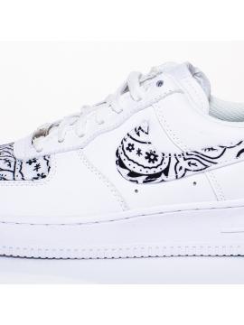 Remix Line Custom - Nike Air Force 1 Bandana Custom White