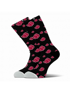 Primitive Skate x Naruto Akatsuki Socks