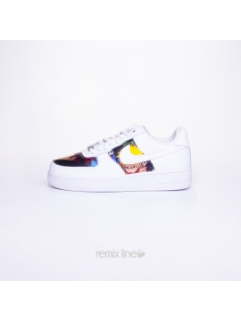 Remix Line Custom - Nike Air Force 1 Enfant Naruto Custom