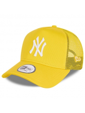 Casquette Enfants New Era New York Yankees Tonal Mesh A-Frame Trucker Jaune