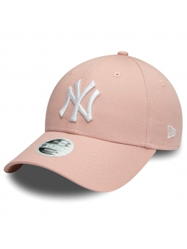 Casquette Femmes New Era New York Yankees Colour Essential 9Forty Rose
