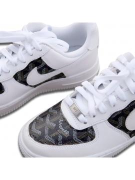 Remix Line Custom - Nike Air Force 1 Goyard Custom