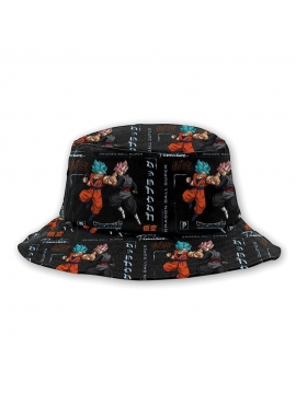 Chapeau Bob Primitive Skate Goku Versus Noir