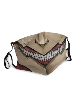 Attack On Titan Face Mask, Titan Battleship - Unisex Mask