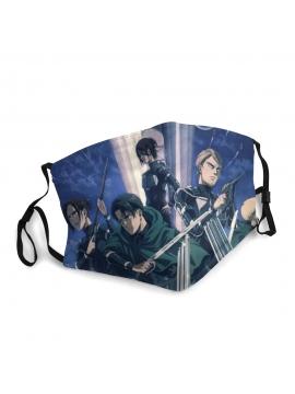 Attack On Titan Face Mask, Shingeki No Kyojin - Unisex Mask