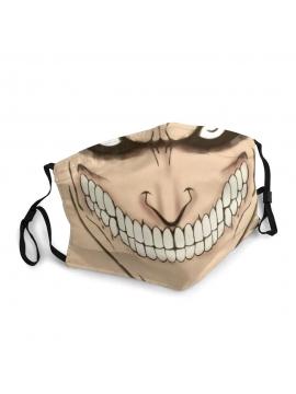 Attack On Titan Eren Yeager Face Mask - Unisex Mask