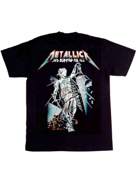 Metallica Justice For All Tee Black