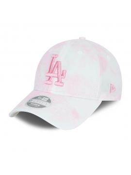 New Era LA Dodgers Denim Womens 9Forty Cap Pink